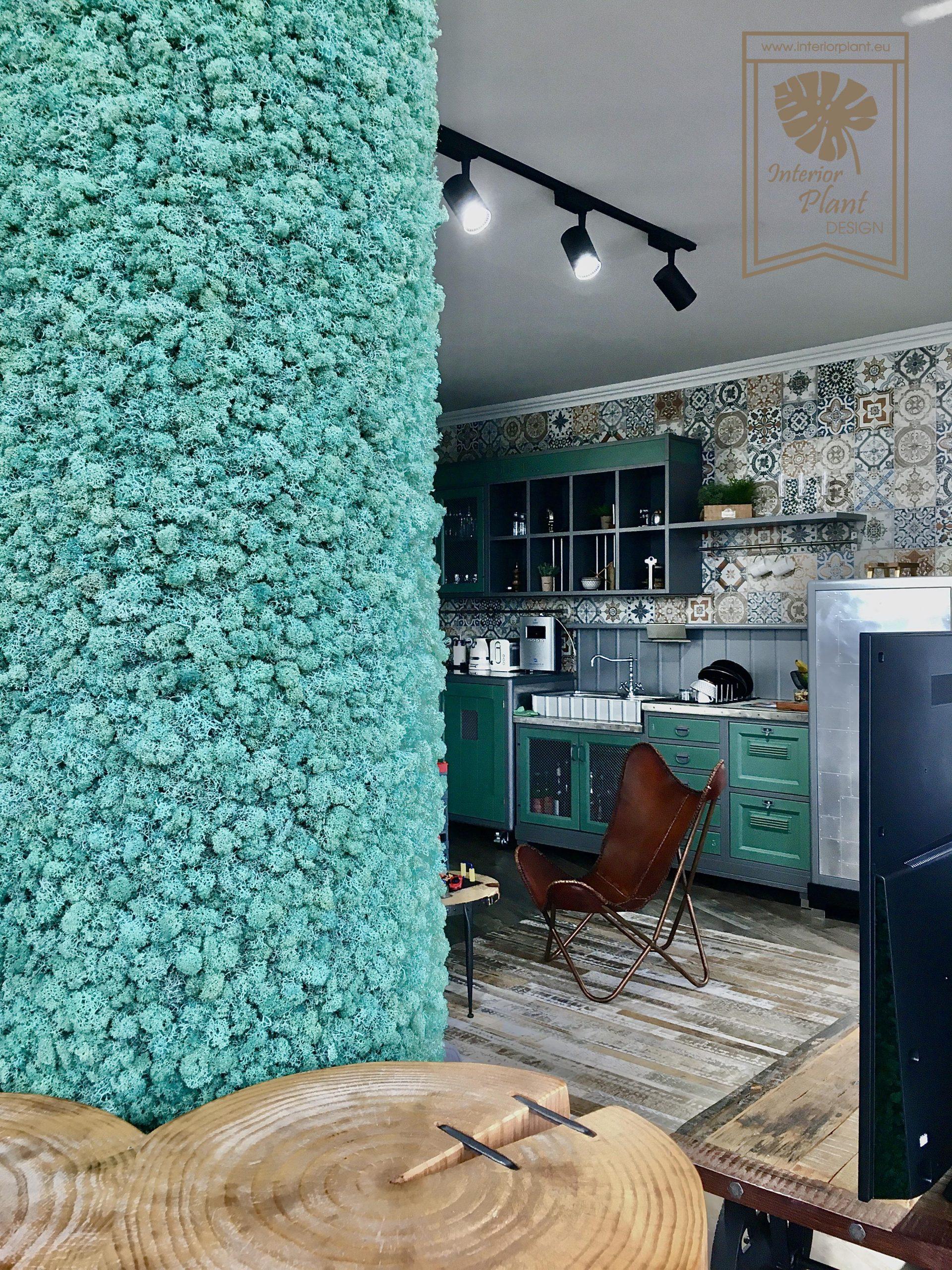 Зелени стени от скандинавски мъх